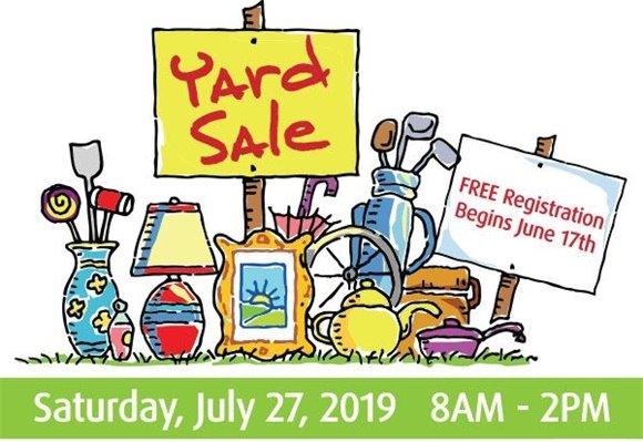 San Mateo Citywide Yard Sale July 27, 2019