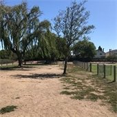 Laurie Meadows Dog Park before renovations