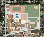 Map of San Mateo High School