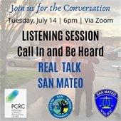 Police Department Real Talk San Mateo Details