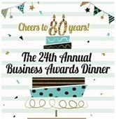 Chamber awards dinner flyer