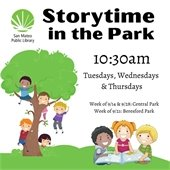 Storytimes in the park