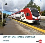 Rendering of a new electrified Caltrain