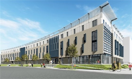 Rendering of the Montara Housing Development