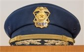 Police chief hat