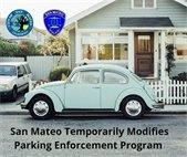 San Mateo Temporarily Modifies Parking Enforcement Program