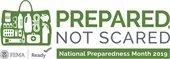 FEMA graphic of preparedness kit