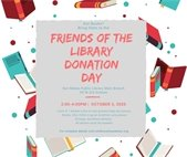 Book donation day