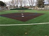 New turf sports field