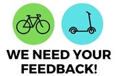 We Need Your Feedback Logo