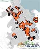 Study Area map of San Mateo