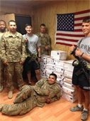 troops and care packages