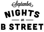September Nights on B Street