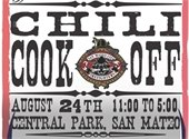 Firefighters Chili Cook Off flyer