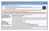 PA18-037  ZA Decision  PLACARD