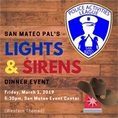 Police Activities League Lights & Sirens Dinner
