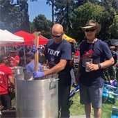 Firefighter chili cook off