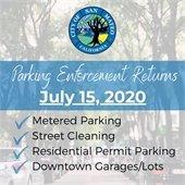 Parking Enforcement Returns
