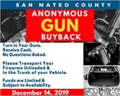 Anonymous gun buyback flyer