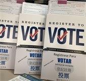 Voter Registration Pamphlets