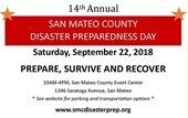 Disaster preparedness day
