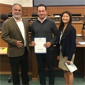 Council Recognition for Cal Bay Property Management