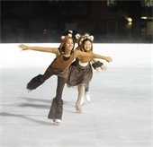 Ice Skaters in Central Park