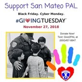 San Mateo PAL Giving Tuesday