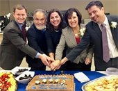 Council cuts cake during annual rotation