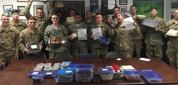Treats for the troop!