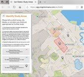 Image of the online map exercise