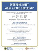 Everyone Must Wear a Face Covering