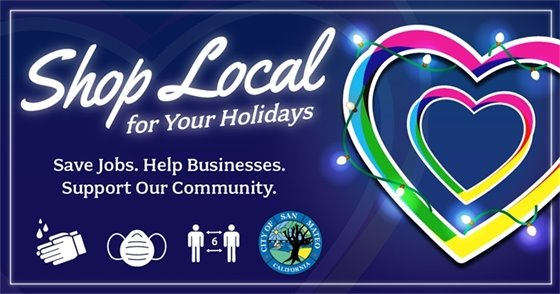 Shop Local for Your Holidays, Shop San Mateo