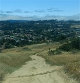 View of San Mateo from atop Sugarloaf Mountain