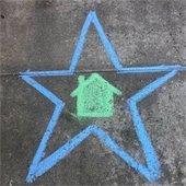Chalk star