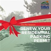 Residential parking permit