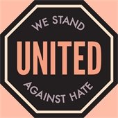We Stand United Against Hate graphic