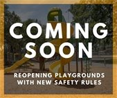 Playgrounds reopening soon