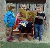 Picture of children being read to