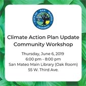 Climate Action Plan update workshop graphic