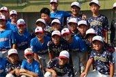 Youth baseball players in Toyonaka Japan