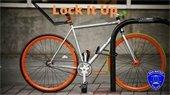 Bike theft warning - lock it up
