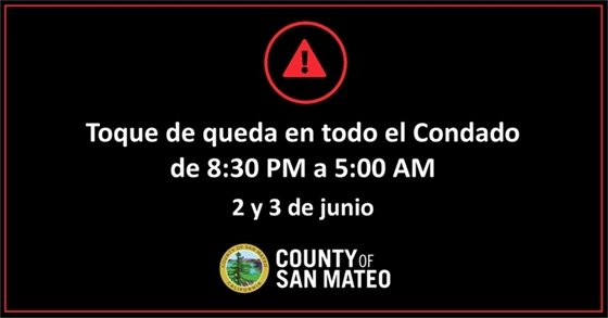 County Notice in Spanish