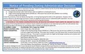 PA18-003 ZA Decision PLACARD