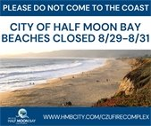Half Moon Bay Beaches Closed