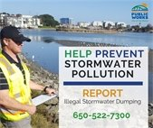 Help prevent stormwater pollution