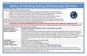 PA18-040  ZA Decision  PLACARD