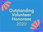 Outstanding 2020 Volunteers