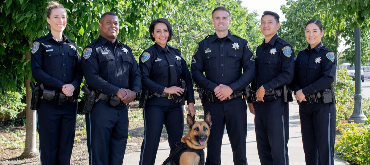 Police Officers with K-9