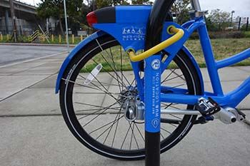 Bay Bikes, San Mateo's Bike Share program is implemented and managed by the Sustainability Progra